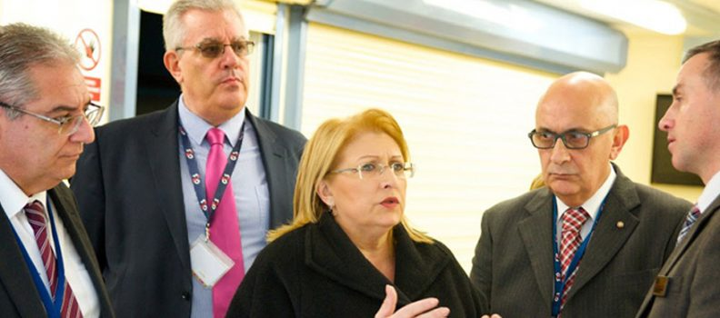 Visit to HMP Parc with the President of Malta